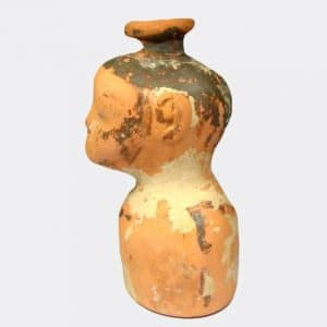 Helios Gallery Antiquities - East Greek Negroid pottery vessel