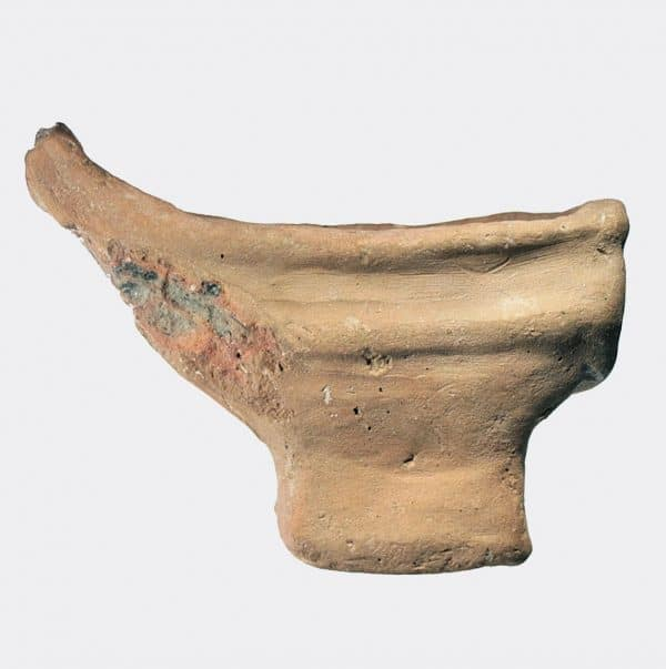 Antiquities - Ancient Egyptian terracotta ship