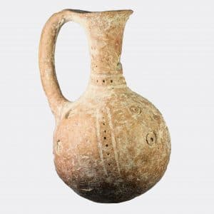Helios Gallery Antiquities - Ancient Cyprus Bronze Age jug
