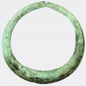 Helios Gallery Antiquities - Ancient Near East bronze bracelet