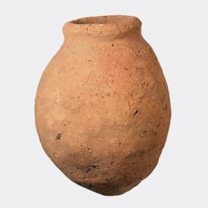 Helios Gallery Antiquities - Ancient Egyptian red pottery jar
