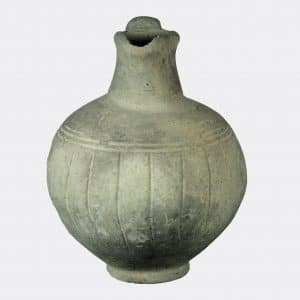 Cypriot Antiquities - Cypriot grey pottery oinochoe