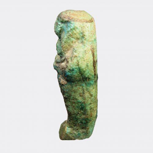 Egyptian Antiquities - Egyptian faience shabti of Ankh-es-en-Amen