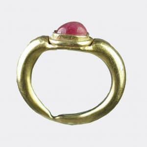 Ancient Jewellery - Javanese Medieval gold ring