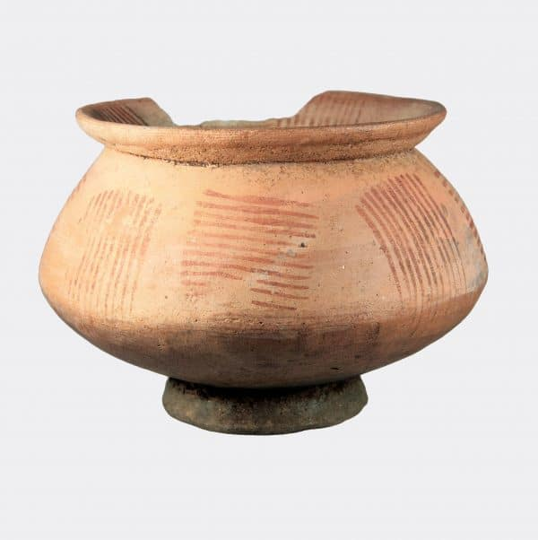 Helios Gallery - Greek Antiquities Italic painted pottery bowl