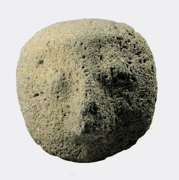Miscallaneous Antiquities - Pre-Columbian Mexican volcanic stone head