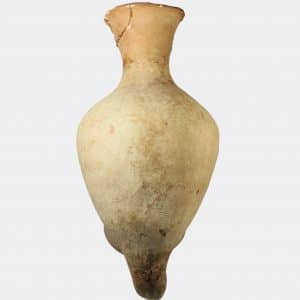 West Asian Antiquities - Palestinian Bronze Age pottery rhyton