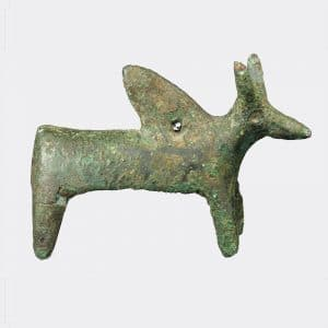 Helios Gallery Antiquities - Amlash bronze Zebu bull