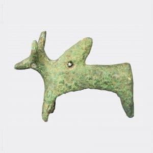 Helios Gallery Antiquities - Amlash bronze Zebu bull
