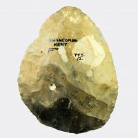 Miscellaneous Antiquities - Swanscombe ovate flint hand axe