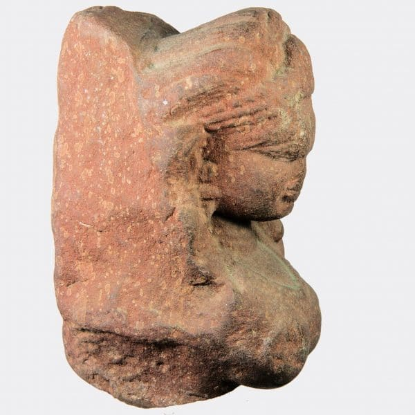 Miscellaneous Antiquities - Indian sandstone relief fragment