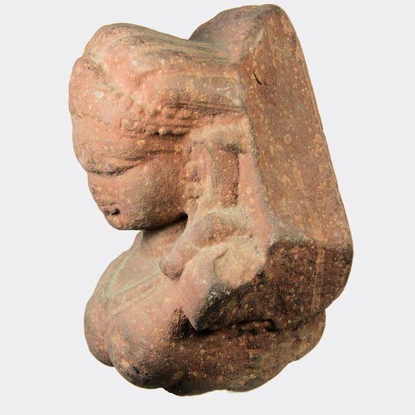 Miscellaneous Antiquities - Indian sandstone relief fragment