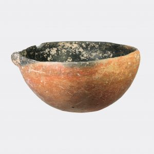 Cypriot Antiquities- Cypriot Early Bronze Age burnished pottery bowl