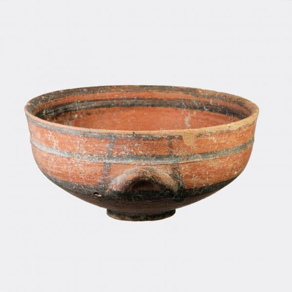 Cypriot Antiquities - Cypriot Black-on-Red ware bowl