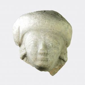 Cypriot Antiquities - Cypriot late Classical pottery head