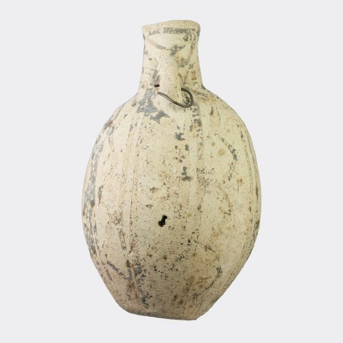 Cypriot Antiquities - Cypriot Middle Bronze Age pottery amygdaloid flask