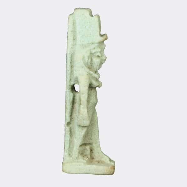 Egyptian Antiquities - Egyptian faience Isis amulet