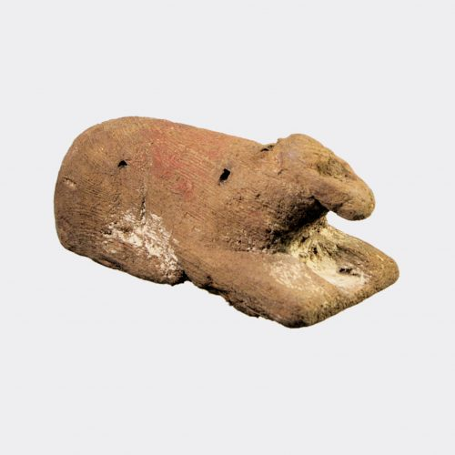 Egyptian Antiquities - Egyptian wood votive model of a calf