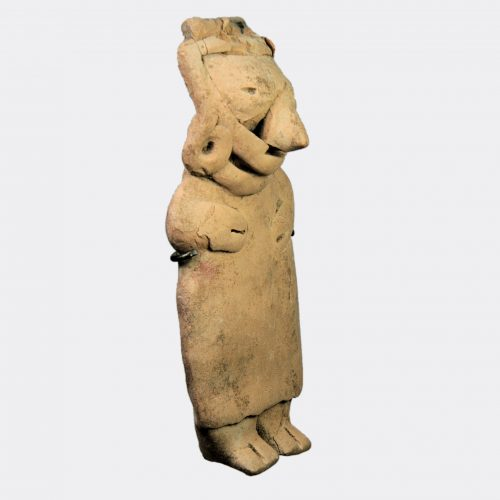 Ancient South America - Pre-Columbian Mexican pottery figure of a woman