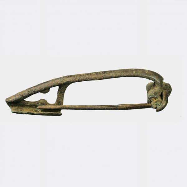 Roman Antiquities - Three Roman bronze fibulae