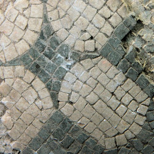 Roman Antiquities - Roman mosaic floor fragment