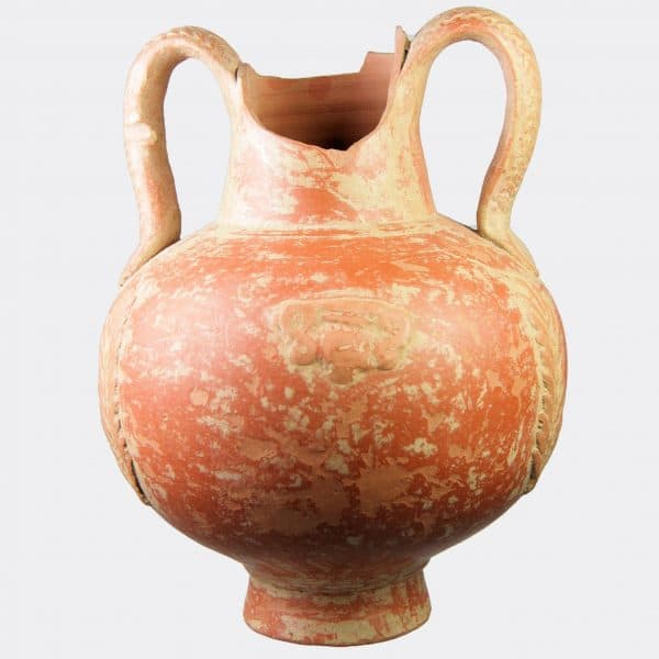 Roman Antiquities - Roman North African slip ware flask