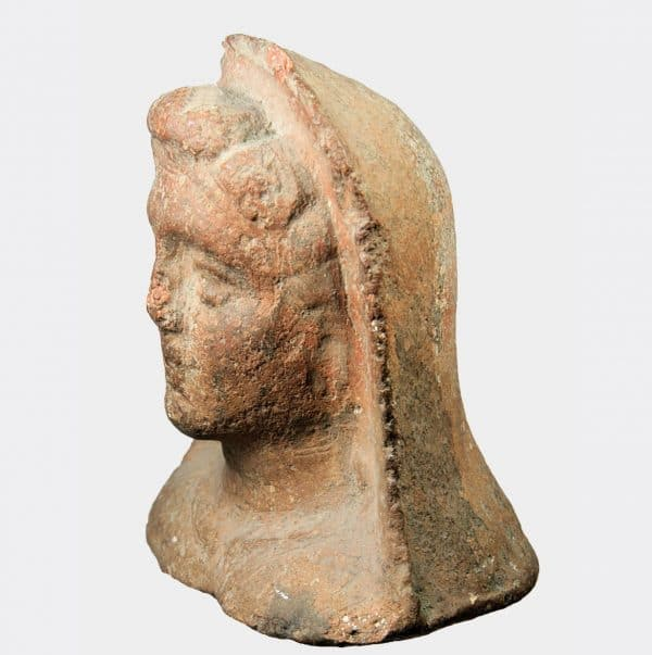 Miscellaneous Antiquities - Etruscan votive terracotta head