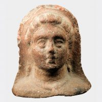 Miscellaneous Antiquities - Etruscan votive terracotta head