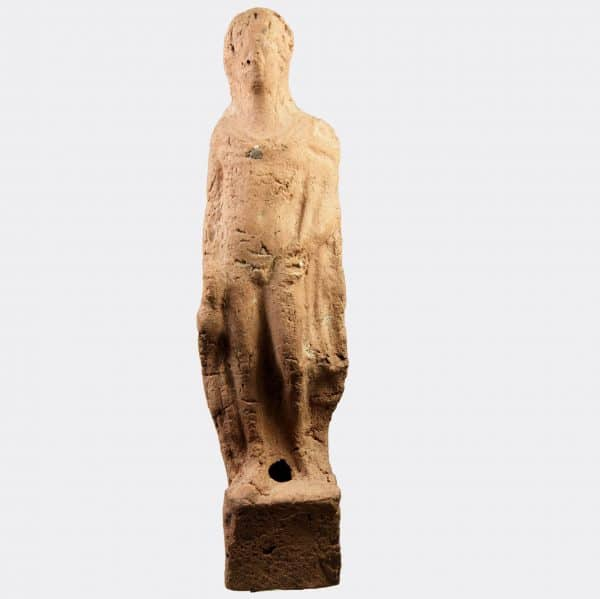 Greek Antiquities - Greek terracotta figure of Hermes