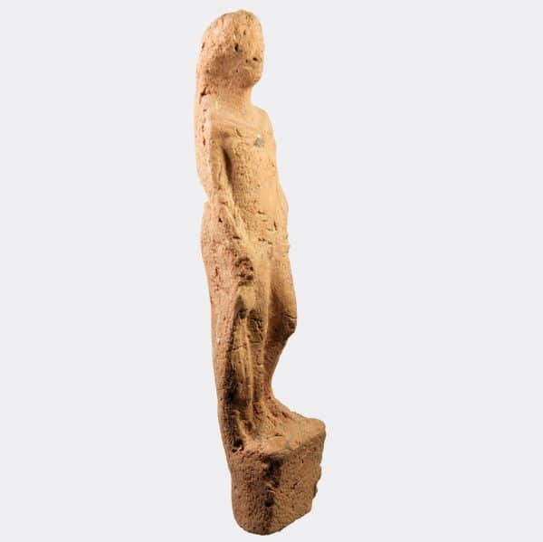 Greek Antiquities- Greek terracotta figure of Hermes