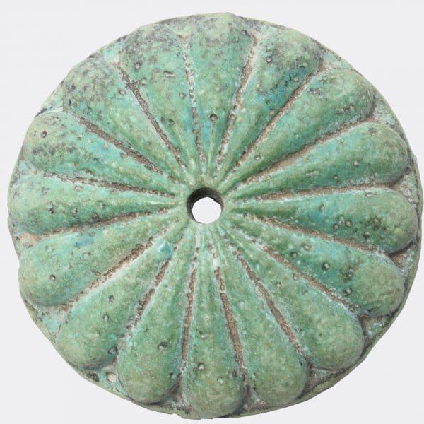 West Asian Antiquities - Achaemenid large faience rosette