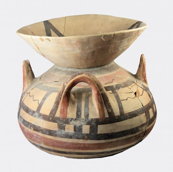 Miscellaneous Antiquities - Italic large Daunian painted olla