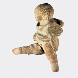 Greek Antiquities - Hellenistic pottery erote