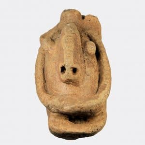 Miscellaneous Antiquities - African pottery head