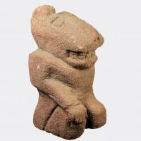 Miscellaneous Antiquities - Miscellaneous Antiquities - Pre-Columbian jaguar headed sculpture
