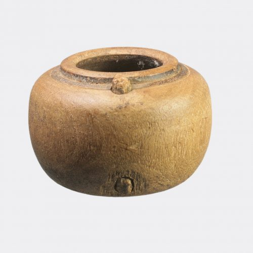 Egyptian Antiquities - Egyptian Coptic wood vessel