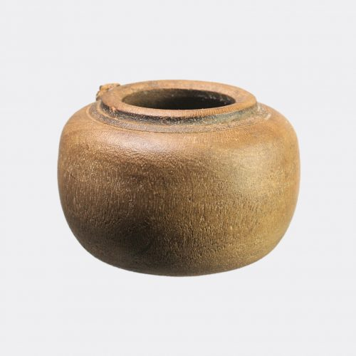 Egyptian Antiquities - Egyptian Coptic wood vessel