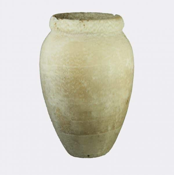 Egyptian Antiquities - Egyptian Old Kingdom alabaster vase
