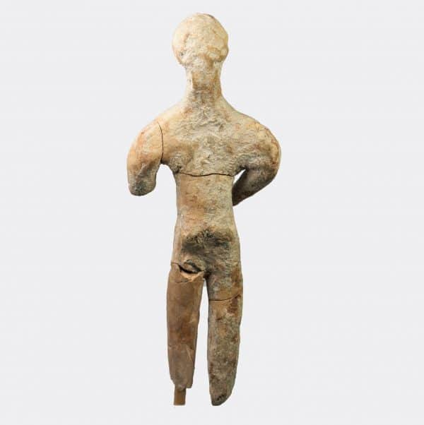 Greek Antiquities - Greek Geometric pottery kouros