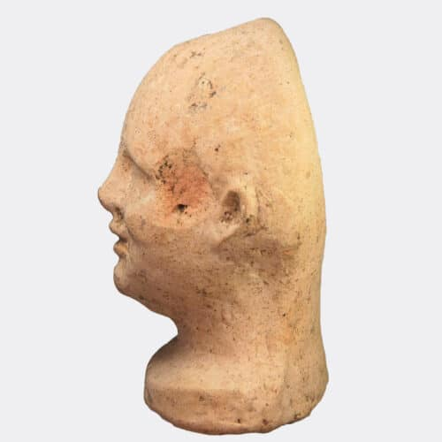 Miscellaneous Antiquities - Etruscan votive pottery head of a boy