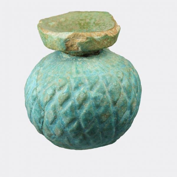Greek Antiquities - East Greek faience aryballos