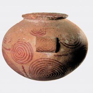 Egyptian Antiquities - Egyptian Naqada painted pottery jar