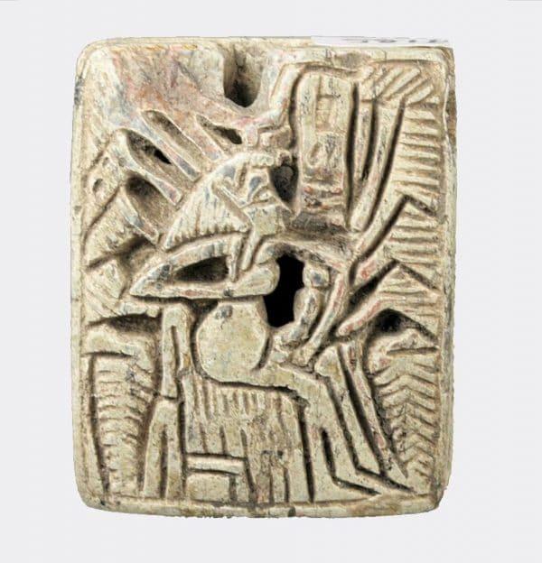 Egyptian Antiquities- Egyptian large steatite seal
