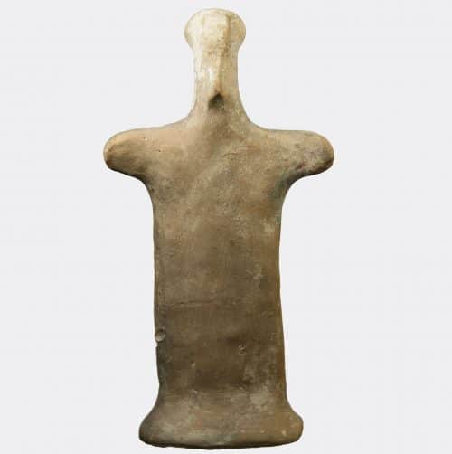 Greek Antiquities - Greek Boeotian votive figure