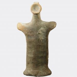 Greek Antiquities - Greek Boeotian votive figure