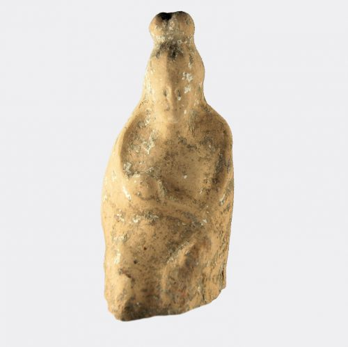 Greek Antiquities - Greek pottery figure fragment