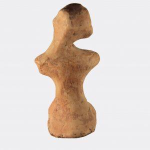 Greek Antiquities - Greek pottery grotesque figure