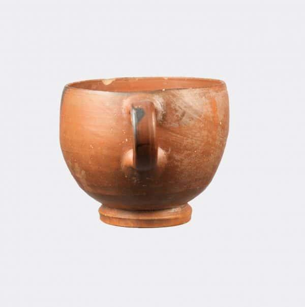 Greek Antiquities - Greek pottery kantharos cup