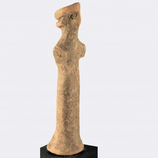 Greek Antiquities - Greek Boeotian votive pottery offerant
