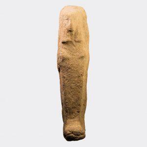 Egyptian Antiquities - Egyptian New Kingdom large pottery shabti
